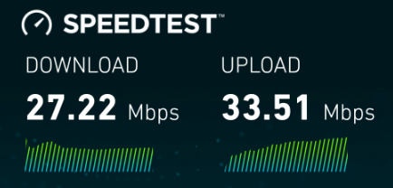 Union wifi speed