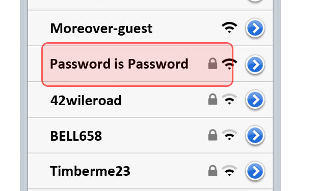 Interesting, Clever and Funny Wi-Fi Network Names